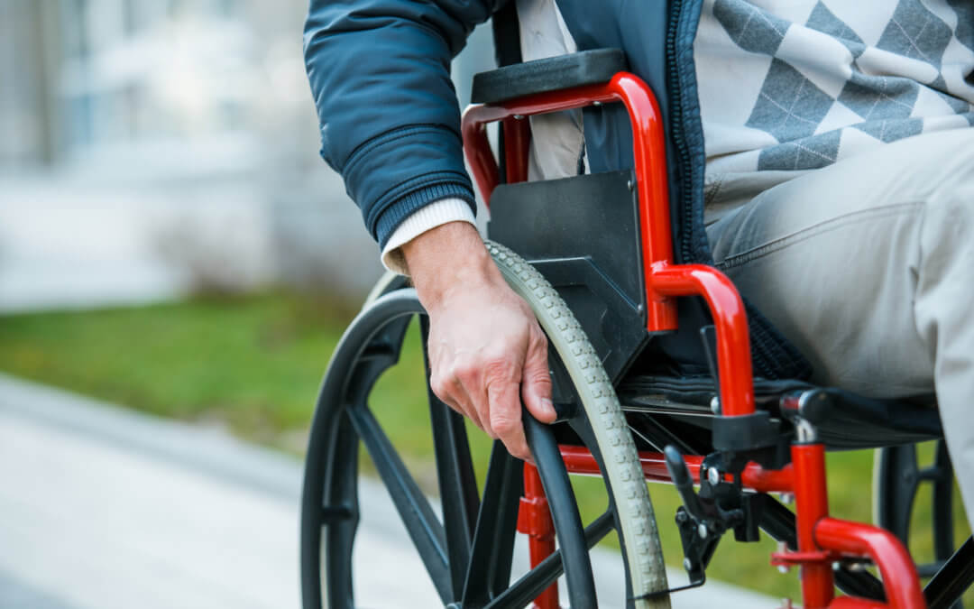 Arrival of wheelchair Taxi